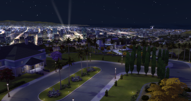 Overlook of The Pinnacles in The Sims 4